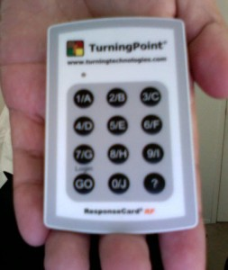 My response card